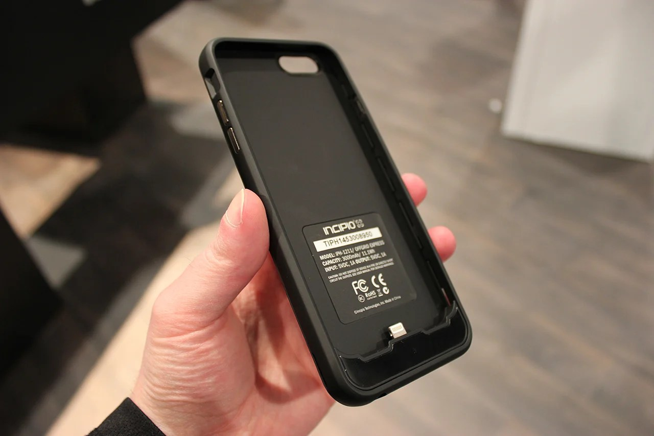pretty nice 83545 fc50a Incipio OffGRID Express iPhone 6 Battery Case Announced