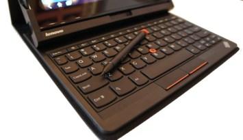 Keyboard and Stylus - ThinkPad Tablet Keyboard Folio Case