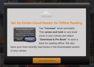 Kindle Cloud Reader Hands on - 3