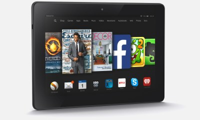 You can connect the Kindle Fire HDX and Kindle Fire to your HDTV and your data syncs great even to iPhone or Android.