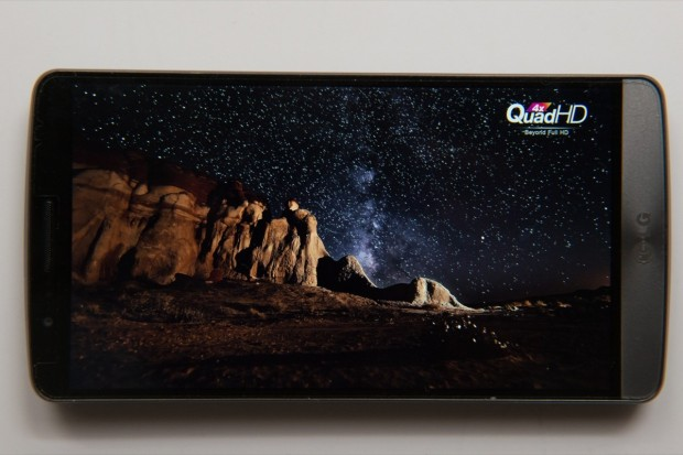 The LG G3 display impresses us.