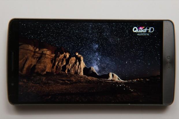 The LG G3 display impresses us.