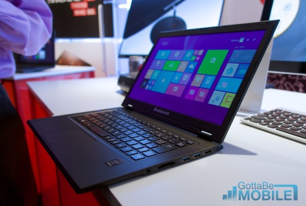 The Lenovo LaVie Z is surprisingly light.
