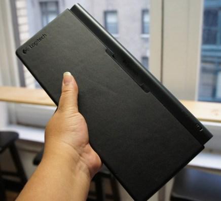 Logitech Tablet Keyboard in the Case