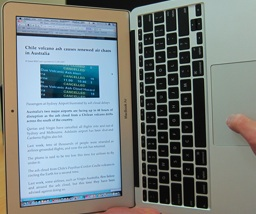 Mac Screen Rotate: Turn Your MacBook Air Into an Ebook Reader