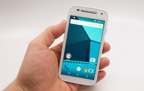 Moto E 2015 Hands On - 6