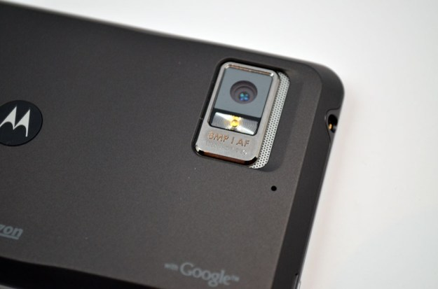 Motorola Droid Bionic camera