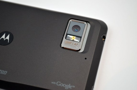 Motorola Droid Bionic camera