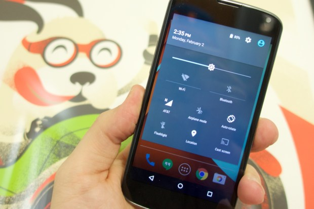 The Nexus 4 Android 5.0.1 update performance is good.