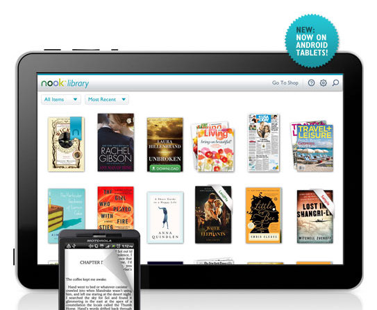 Nook for Android Tablets