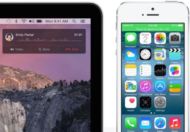 OS X Yosemite - Phone Calls on Mac