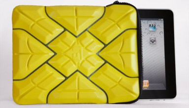 G-Form iPad Extreme Sleeve Case in Yellow