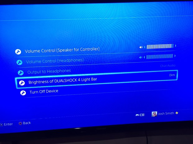 Change important PS4 controller settings.