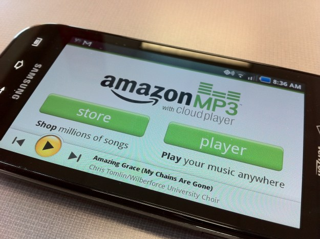 Amazon MP3 Cloud Player App on Android