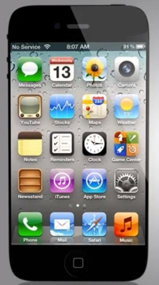 Possible iPhone 5 Mockup