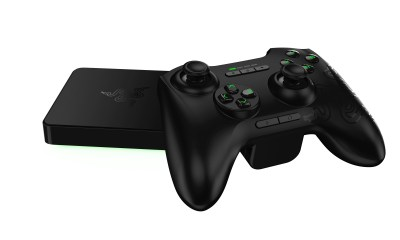 The Razer Forge TV and controller.