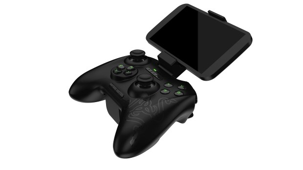 Play on your big screen or on your phone with the Razer Serval controller.