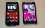 HTC Rezound and HTC Thunderbolt