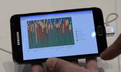 SAP app on Samsung Galaxy Note