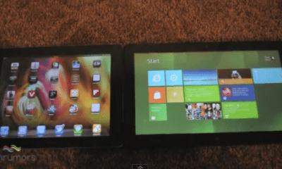 ipad 2 vs. Windows 8