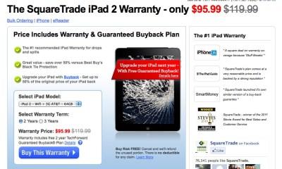 SquareTrade iPad Warranty