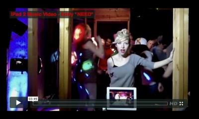 "Eddy's music video ""Need"" shot on iPad 2"
