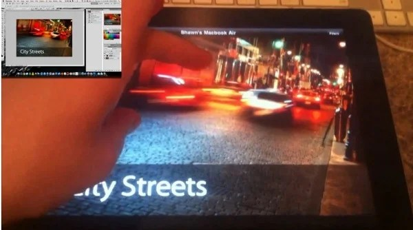 Photoshop Remote for iPad