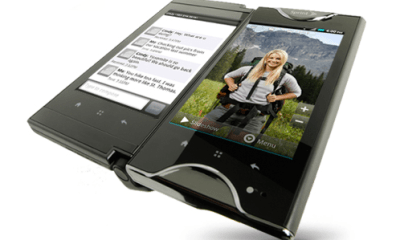 Kyocera Echo Half Open Tablet Mode