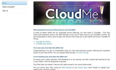 iCloud is CloudMe Not Apple
