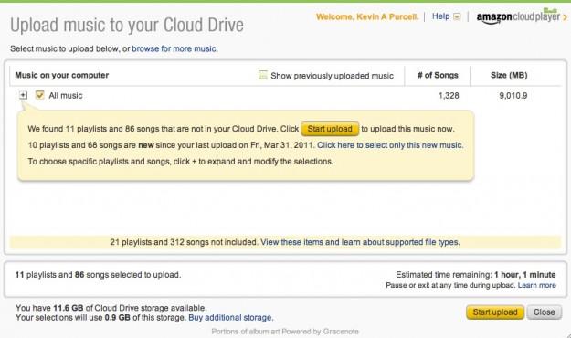 Amazon MP3 Uploader