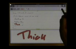 Dan Bricklin demos Note Taker HD