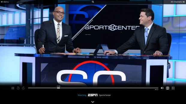 Use Sling TV to watch ESPn without cable for $20 a month.