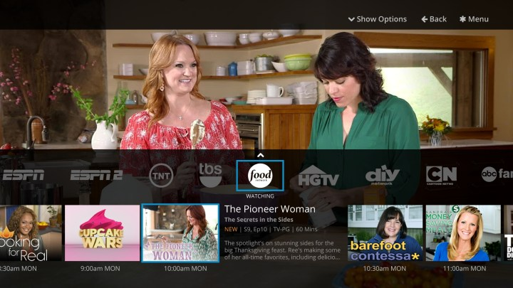 Watch a variety of channels on Sling TV without cable or a satellite.