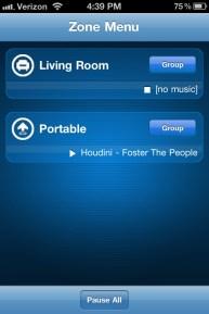 Sonos PLAY3 Review app 2