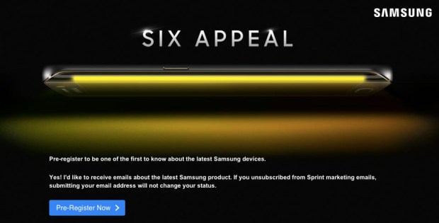 The Sprint Galaxy S6 is confirmed.