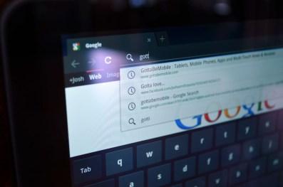 T-Mobile G-Slate browser