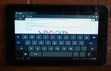 T-Mobile G-Slate keyboard
