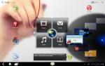 App Wheel - ThinkPad Tablet