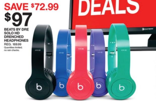 Target Black Friday 2014 ad - Beats Headphones