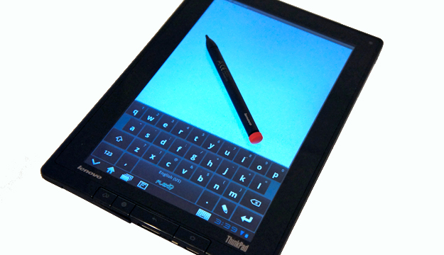 ThinkPad Table with Stylus