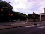 Outdoor shot, mixed street and sky - Toshiba Thrive camera