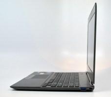 Toshiba Portege z830 Ultrabook side
