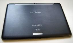 Verizon Wireless Samsung Galaxy Tab 10.1 back