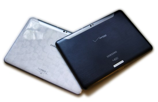 Wi-Fi and Verizon Wireless Samsung Galaxy Tab 10.1