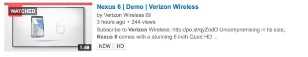 Verizon-N6-video
