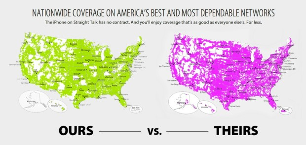 Verizon vs Straight Talk Comparison (2018) on straight talk walmart coverage area, cingular coverage map, tracfone cell phone coverage map, straight talk refill, straight talk android coverage gsma, straight talk 3g map, straight talk phones, net10 wireless coverage map, straight talk mobile home, cricket wireless coverage map, verizon 4g lte coverage map, u.s. cellular coverage map, at&t coverage map,