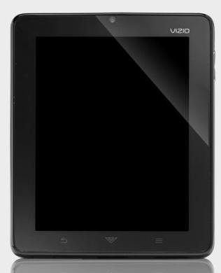 Vizio Android Tablet portrait