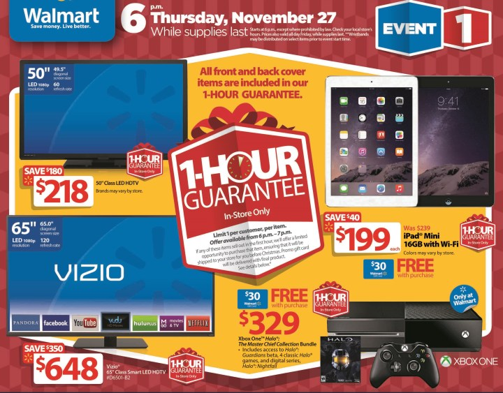 Walmart Black Friday 2014 Ad