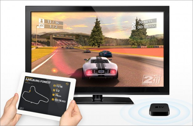 airplay Real Racing HD 2