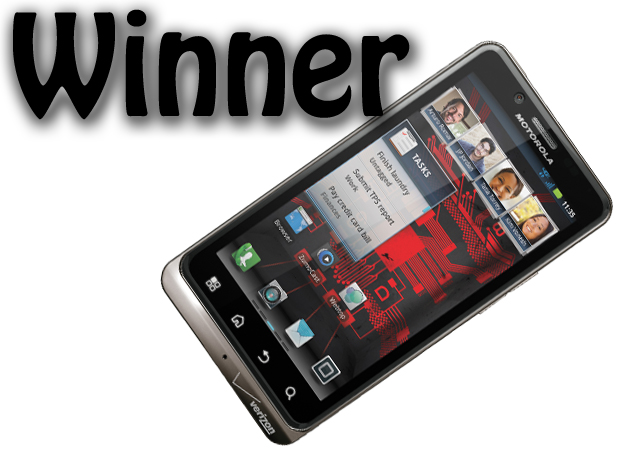The Winner - Droid Bionic